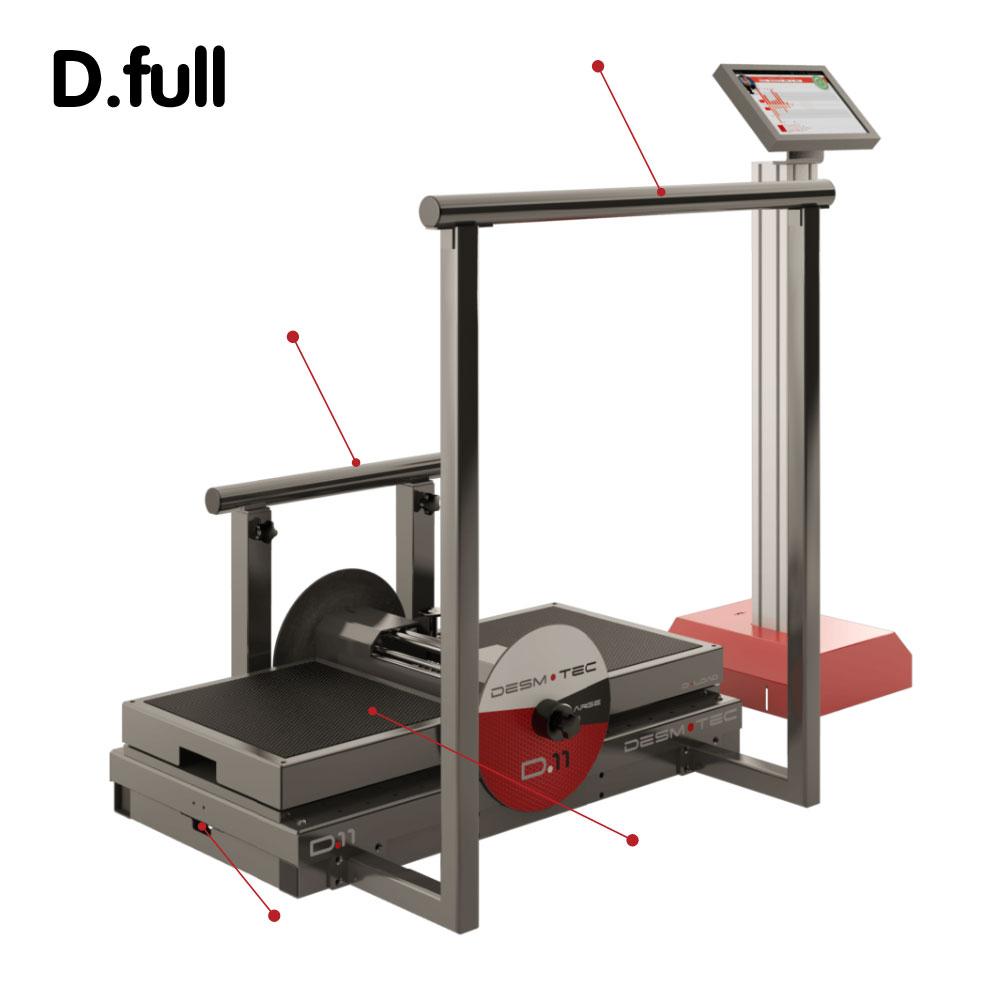意大利 Desmotec 下蹲式D.FULL 离心训练器械 像职业选手一样训练