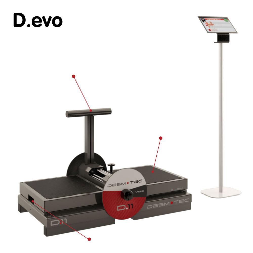 意大利 Desmotec 下蹲式D.EVO 离心训练器械 像职业选手一样训练